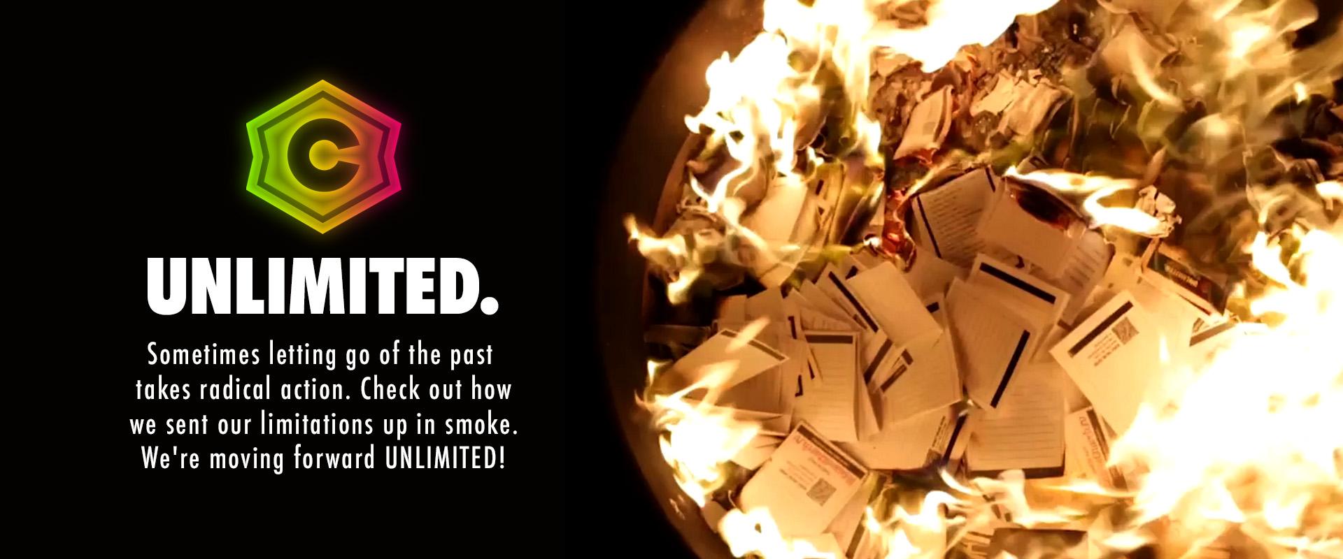 Unlimited Series - Burn Video Slide